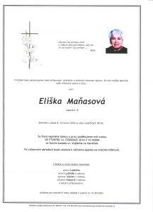Maňasová Eliška